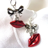 Red Hot Kisses Earrings