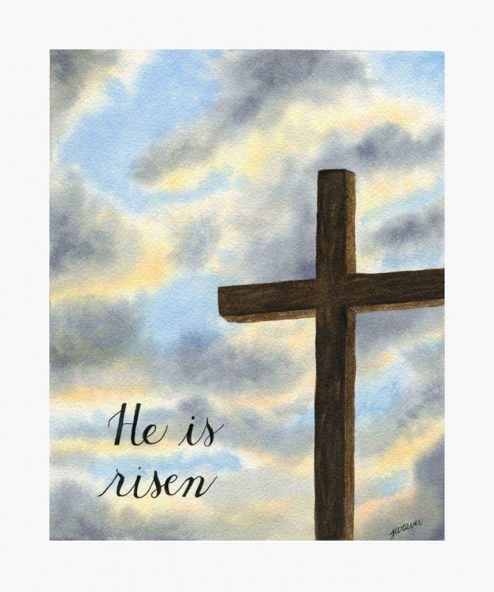 He is Risen Print