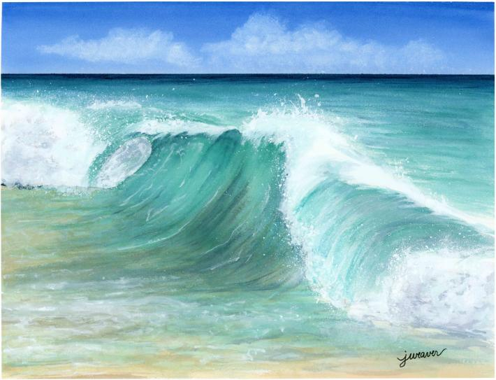 Barbados Watercolor Painting
