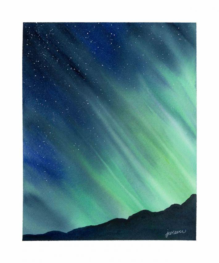 Northern Lights Print 3