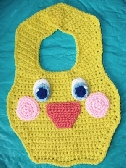 Toddler Bib Funny Duck