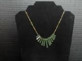 Jade Fan Necklace