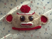 Sock Monkey Stocking Cap