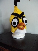 Yellow Angry Bird Hat