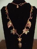 Earthtone Autumn Necklace