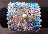Wire Flower Bracelet