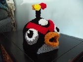 Hat Angry Bird Black Bomb