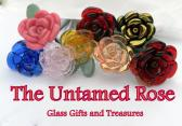 Rose Glass Flower Custom Glass Rose Long Stemmed