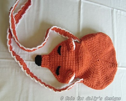 Catie Cole Original Fox Purse