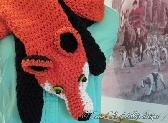 Catie Cole Designs Fox Scarf