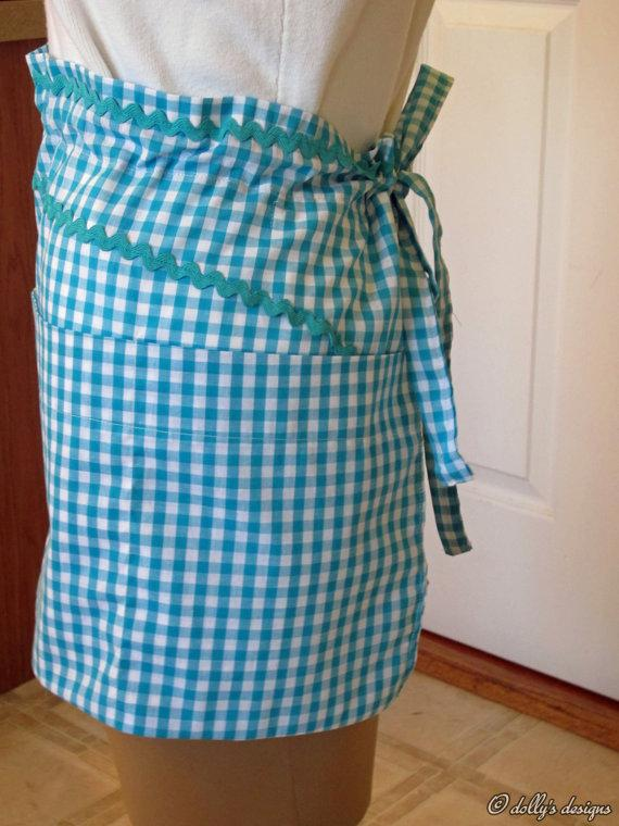 Am I Blue dollys designs First Apron Collection