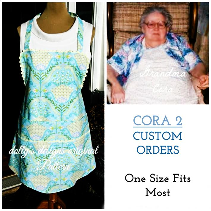 Cora 2 Special Order Fuller Coverage Apron