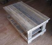 Plank Top Coffee Table shipping included