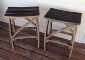 Bourbon Barrel Stave Stool includes shipping