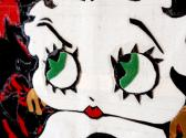 Duck Tape Art Painting Duct Tape Painting Art Betty Boop is The Little Devil