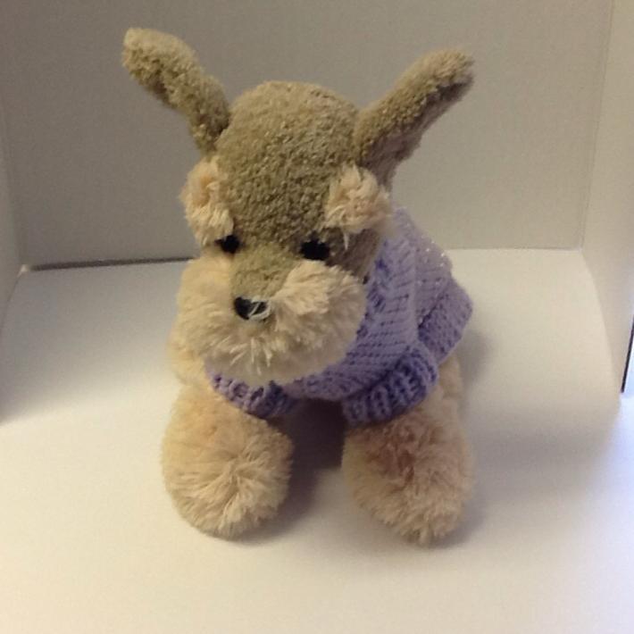 Petite princess dog sweater