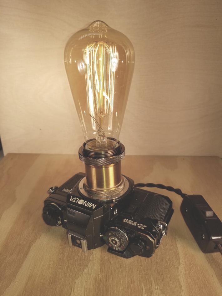 Minolta X700 Camera Lamp