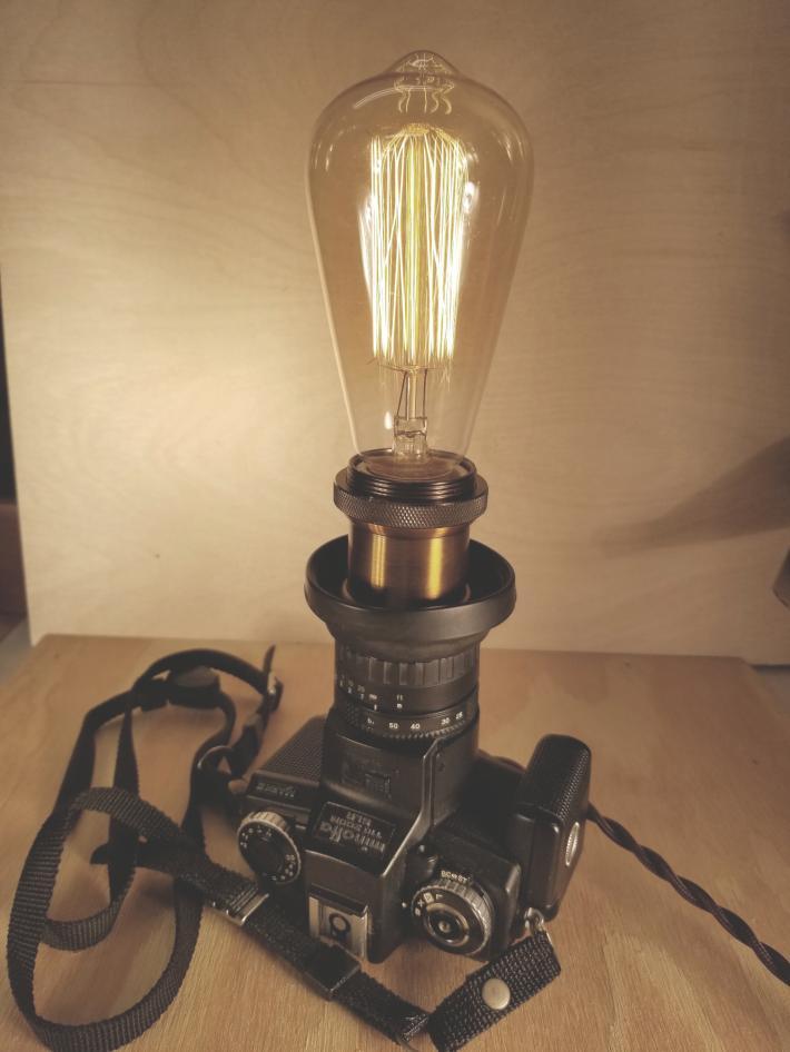 Minolta 110 Zoom Camera Lamp