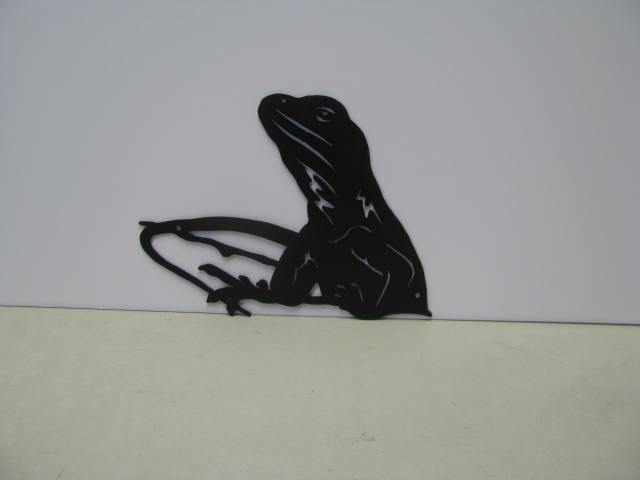 Lizard 006 ST 2009 Metal Wall Art Silhouette