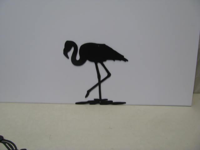 Flamingo 8 ST 2009 Metal Wall Art Silhouette