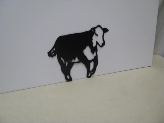 Hereford ST 2010 Western Metal Art Silhouette