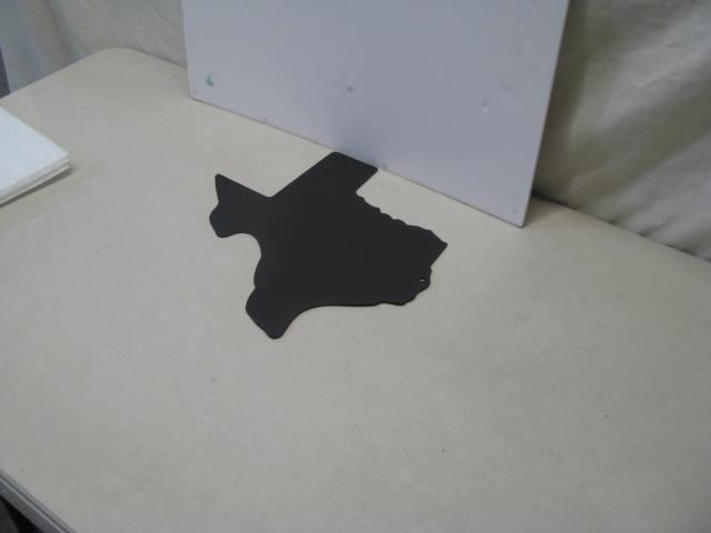 State of Texas ST 2012 Western Metal Art Silhouette