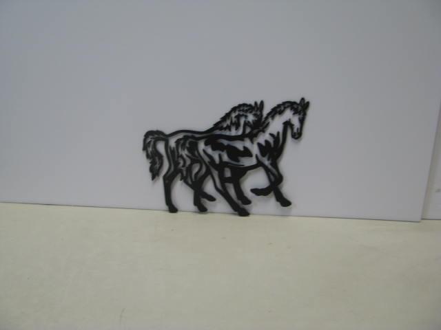 Horse 220 ST 2012 Metal Art Western Silhouette