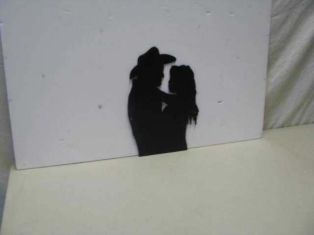 Festive Romance ST SBPS Western Romance Metal Art Silhouette
