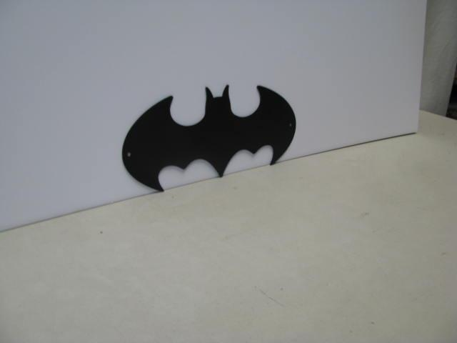 Batman Symbol 003 ST 2012 Metal Art Silhouette