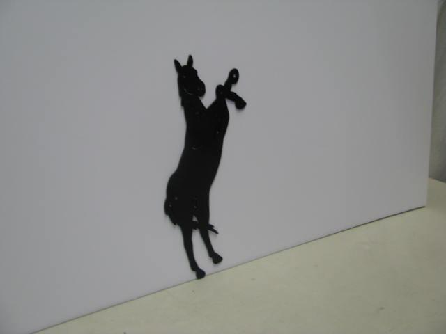 Horse 191 ST 2011 Western Metal Art Silhouette