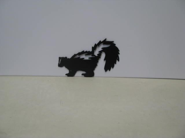 Skunk 004 ST 2012 Metal Art Silhouette