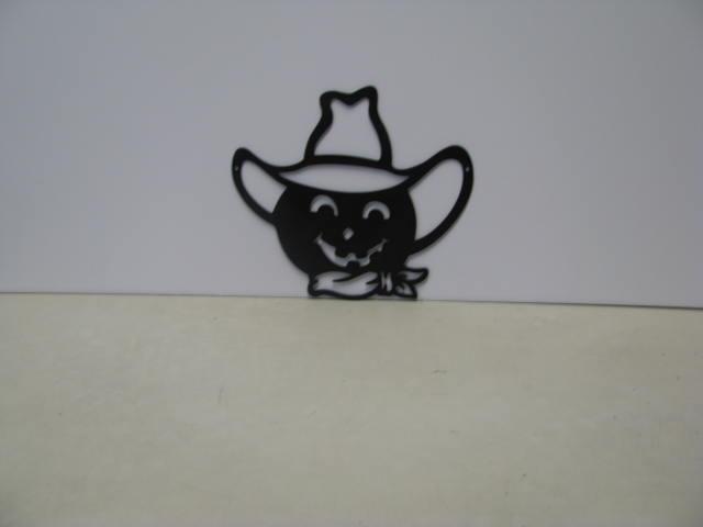 Jack O Lantern 006 ST 2010 Halloween Metal Art Silhouette