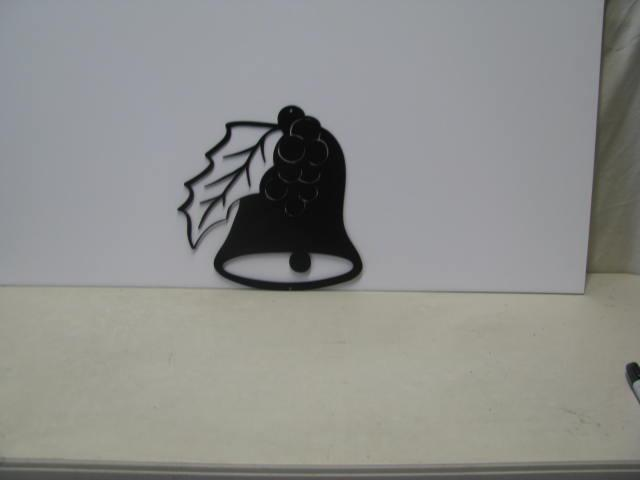 Christmas Bell 2 ST SB PR Metal Art Silhouette