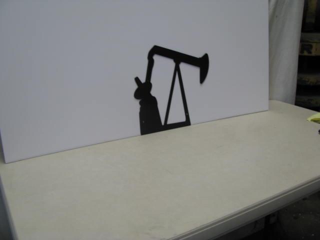 Energy 2 ST SB PR Metal Art Silhouette
