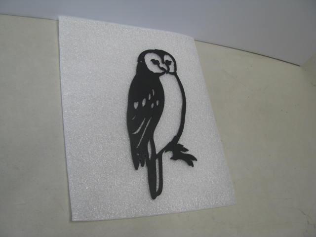 Screech Owl 004 ST 2010 Metal Art Silhouette