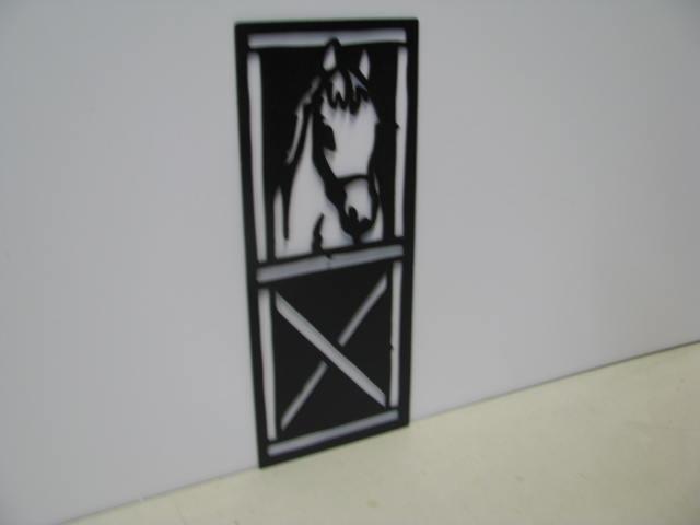 Horse 191 Western Farm Metal Art Silhouette