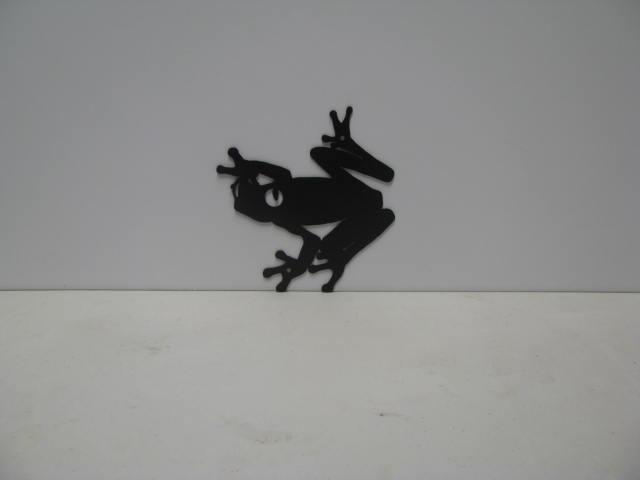 Frog 2 ST 2010 P Shadow Wildlife Metal Art Silhouette