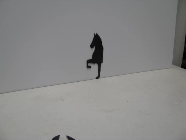 Horse 190 ST 2010 P Shadow Wildlife Metal Art Silhouette