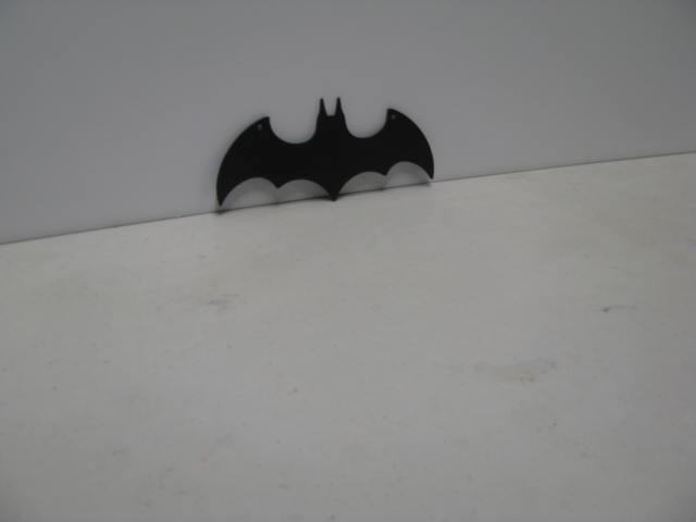 Bat Symbol 001 ST 2010 P Shadow Wildlife Metal Art Silhouette