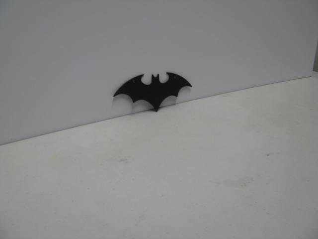 Bat Symbol 002 ST 2012 P Shadow Wildlife Metal Art Silhouette