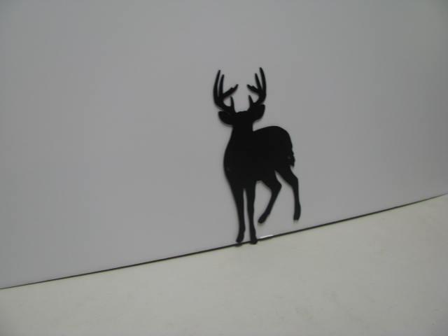 Buck Deer 017 Wildlife Metal Wall Yard Art