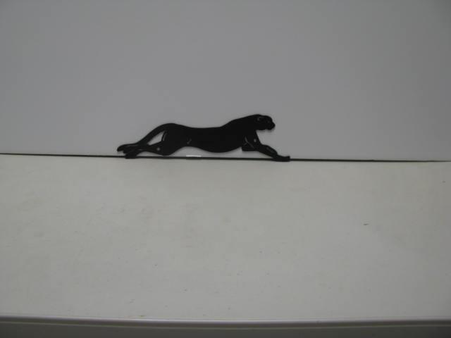 Cheetah Wildlife Metal Wall Yard Art Silhouette