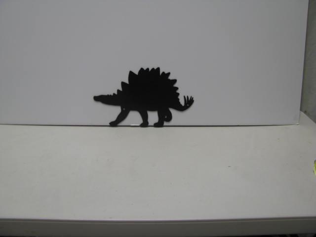Dinosaur 025 Metal Wall Yard Art Silhouette