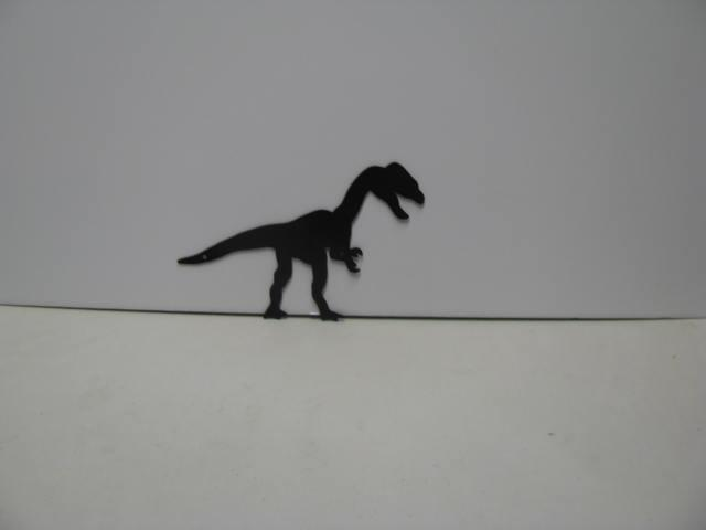 Dinosaur 029 Metal Wall Yard Art Silhouette