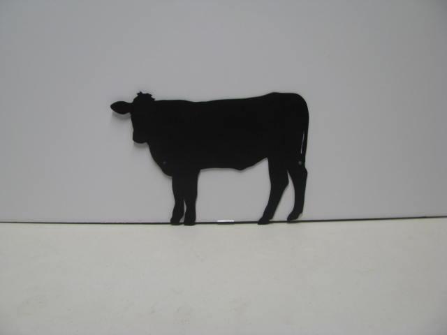 Cow 049 Western Metal Wall Yard Art Silhouette