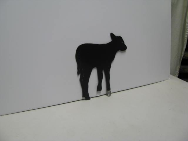 Cow 084 Western Metal Wall Yard Art Silhouette