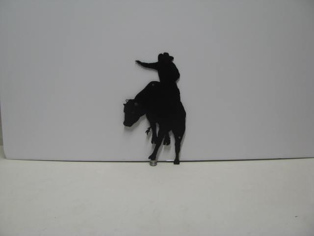 Bull Rider 005 Western Metal Wall Yard Art Silhouette