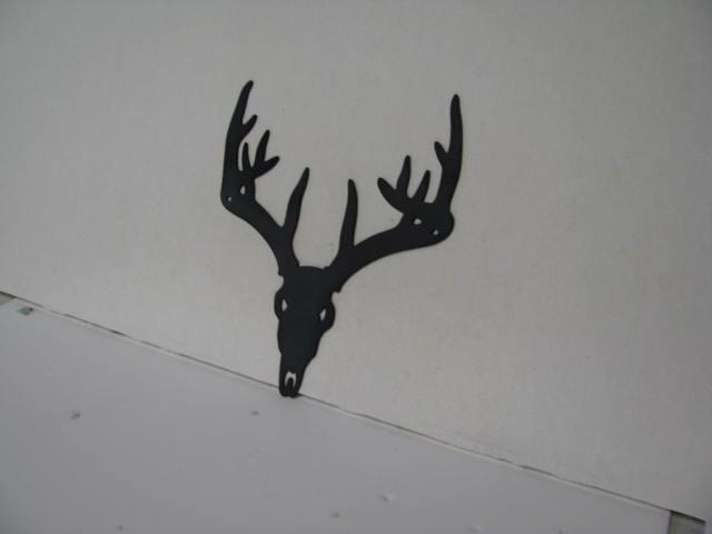 Deer 292 Metal Wildlife Wall Yard Art Silhouette
