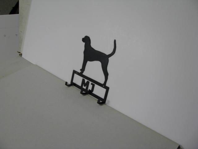 American Fox Hound Metal Wall Yard Art Silhouette