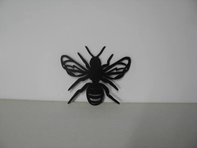 Honey Bee Ch 001 Metal Wall Yard Art Silhouette